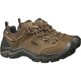 Keen Wanderer WP Shoes Men cascade brown/dark earth